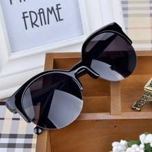 Fashion Brand Designer Cat Eye Women Sunglasses Oversized Sun Glasses Cat eye Vintage Female Eyewear
