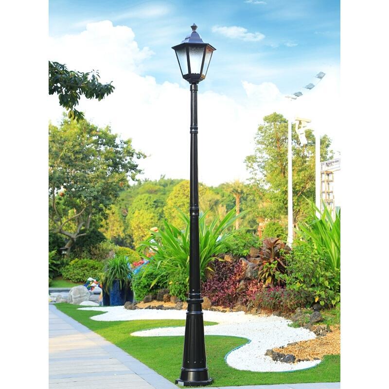 Style Exterior Lampy Ogrodowe Lampioni Da Esterno Lamp Farola Sokak Lambasi Luminaire Exterieur LED Off Road Plaza Street Light enlarge