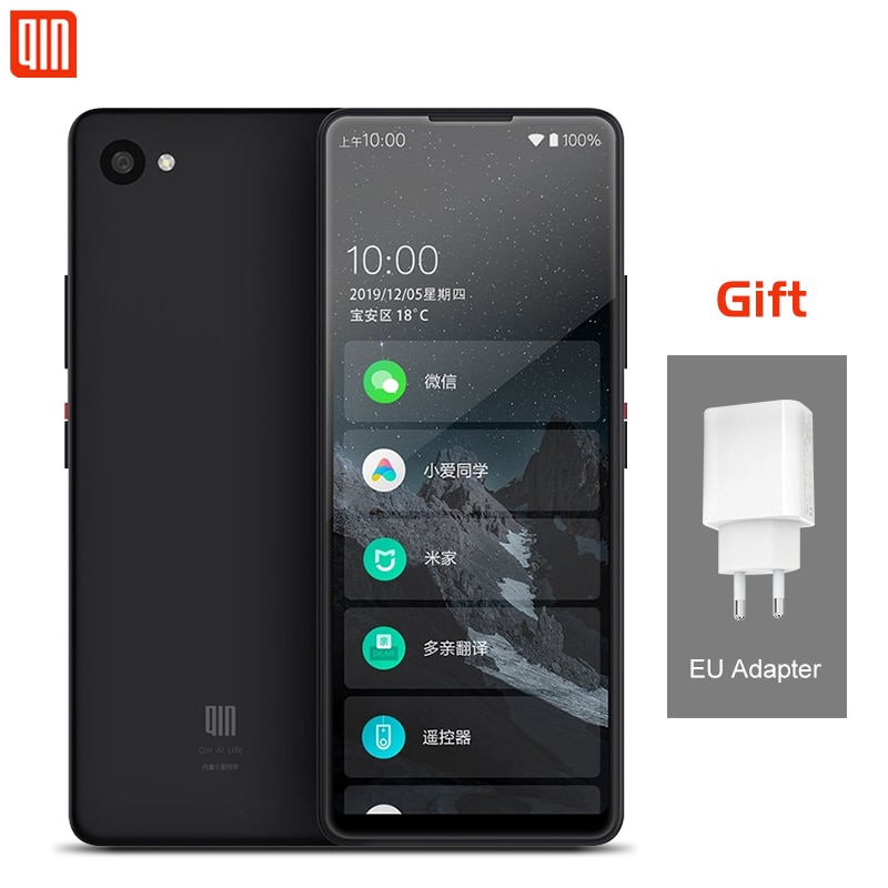 QIN 2 Pro Full Screen Phone 4G Network With Wifi 5.05 Inch 2100mAh Andriod 9.0 SC9863A Octa Core Feature Qin 2Pro