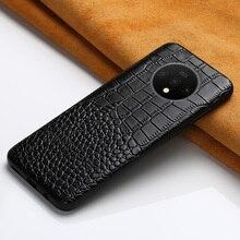 Étui en cuir véritable pour Oneplus 7T 8 Pro 7 Pro 6 6T 7tpro housse de téléphone pour One Plus 7T 5 5T 7 Pro 7T Pro luxe 360 étui complet
