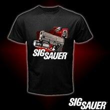 T-Shirt Logo pistolet Sig Sauer taille S M L XL 2XL 3XL