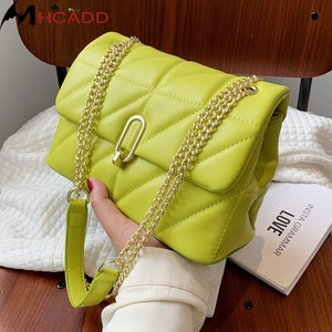New Fashion Shoulder Bag Women Leather Pu Leather Quilted Bag Female Luxury Handbags Women Bags Designer Sac A Main Femme