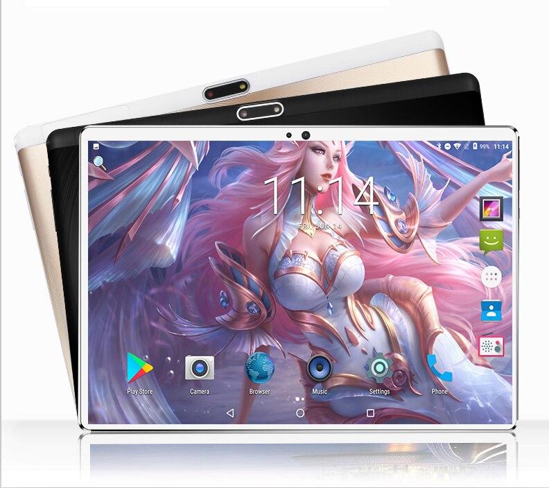 2021 أندرويد 9.0 4G LTE 10.1 شاشة الكمبيوتر اللوحي تلتي اللمس ثماني النواة ذاكرة الوصول العشوائي 6GB ROM 128GB كاميرا 5mp واي فاي 10 بوصة الكمبيوتر اللوحي