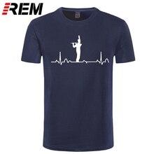 Men T Shirt Flute Chick Text Funny Musical Instrument T Shirt White Text-rt Women Tshirts Print Casual Cotton Short