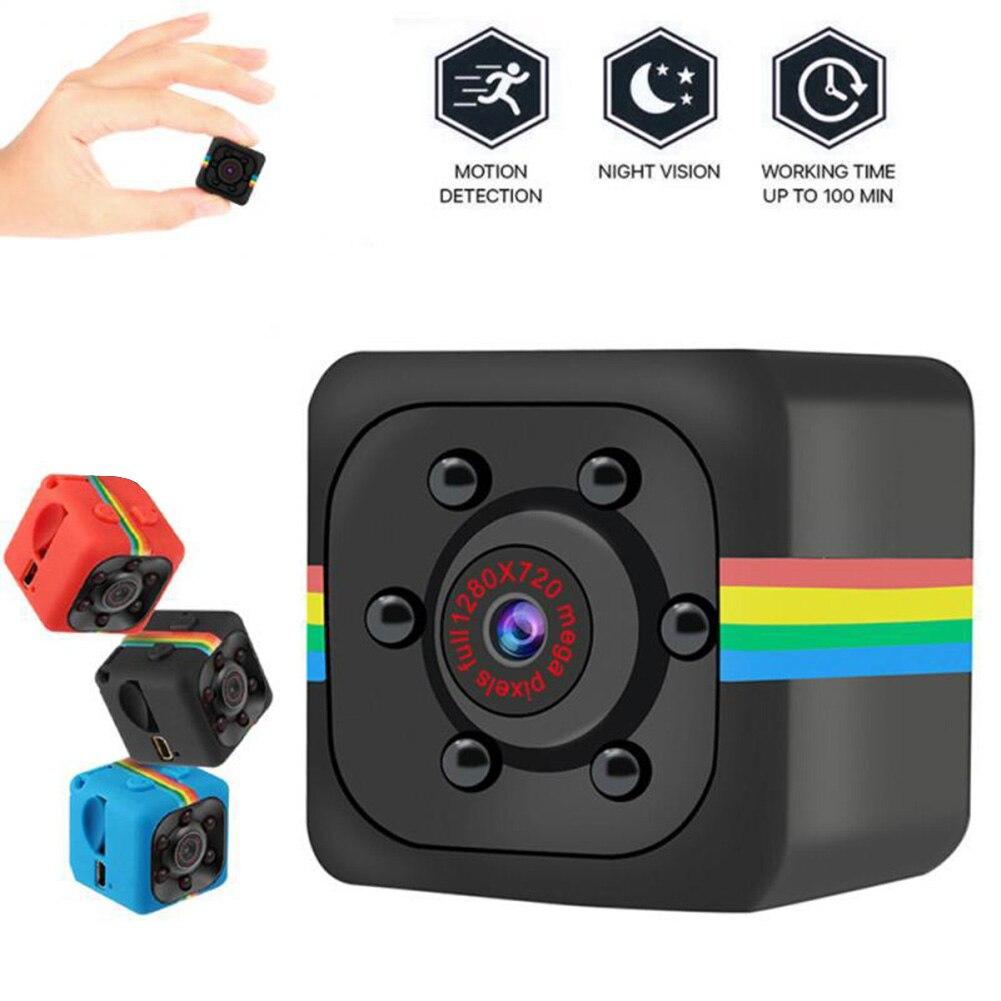 SQ11 Mini cámara Full HD 1080p videocámara Noche del Sensor de movimiento...