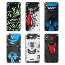 TPU Case Cover For Huawei G7 G8 P7 P8 P9 P10 P20 P30 Lite Mini Pro P Smart Plus 2017 2018 2019 Thor MX Sentinel Motocross Racing