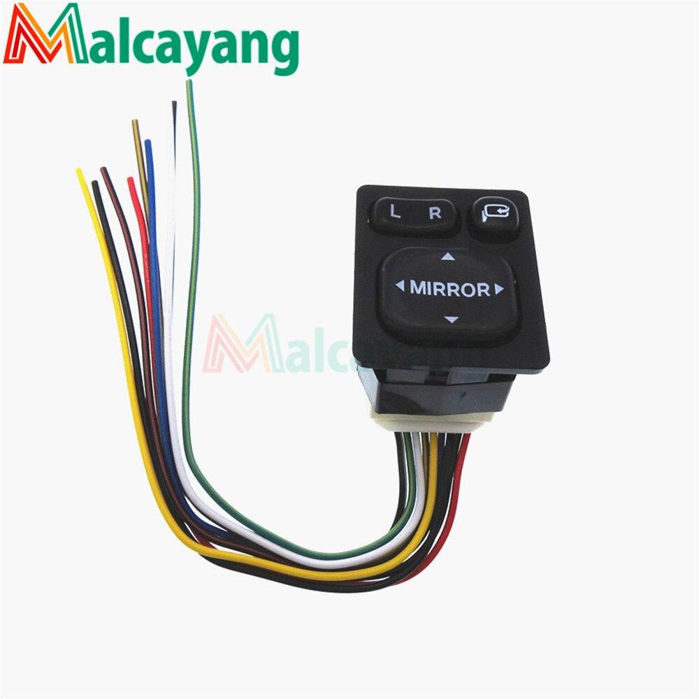 Interrupteur de rétroviseur   Pour Toyota Camry/RAV4/Yaris/Vios, 84870-06110 8487006110 84870