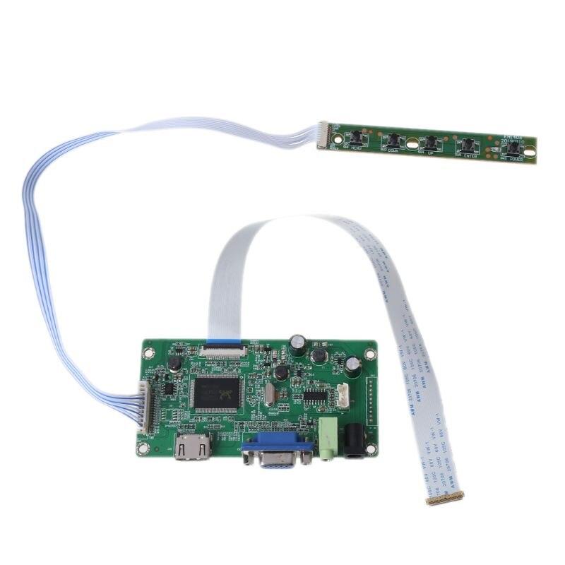 "HdMI VGA Lcd Controller Board for 11.6"" 13.3"" 14"" 15.6"" 17.3"" N116HSE EDP Screen"
