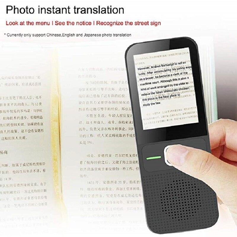 T10 Offline Voice-Translator Smart Portable 137 Language Real-time Translator Without Internet Inter-Translation Machine enlarge