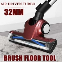 32mm universal vacuum cleaner brush floor cleaner head air driven vacuum cleaner accessorie for dyson dc52 dc58 dc59 v6 dc62