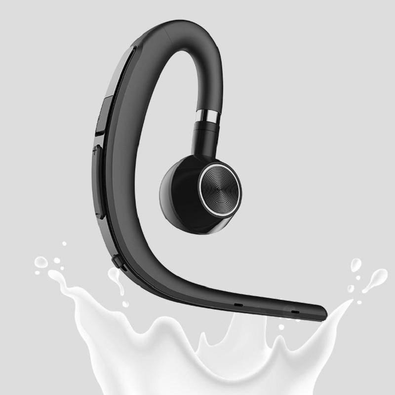 Bezbolesne na sobie słuchawki z Bluetooth zestaw głośnomówiący z mikrofonem do jazdy samochodem Wok słuchawki Bluetooth biznes bezprzewodowy zestaw słuchawkowy D15