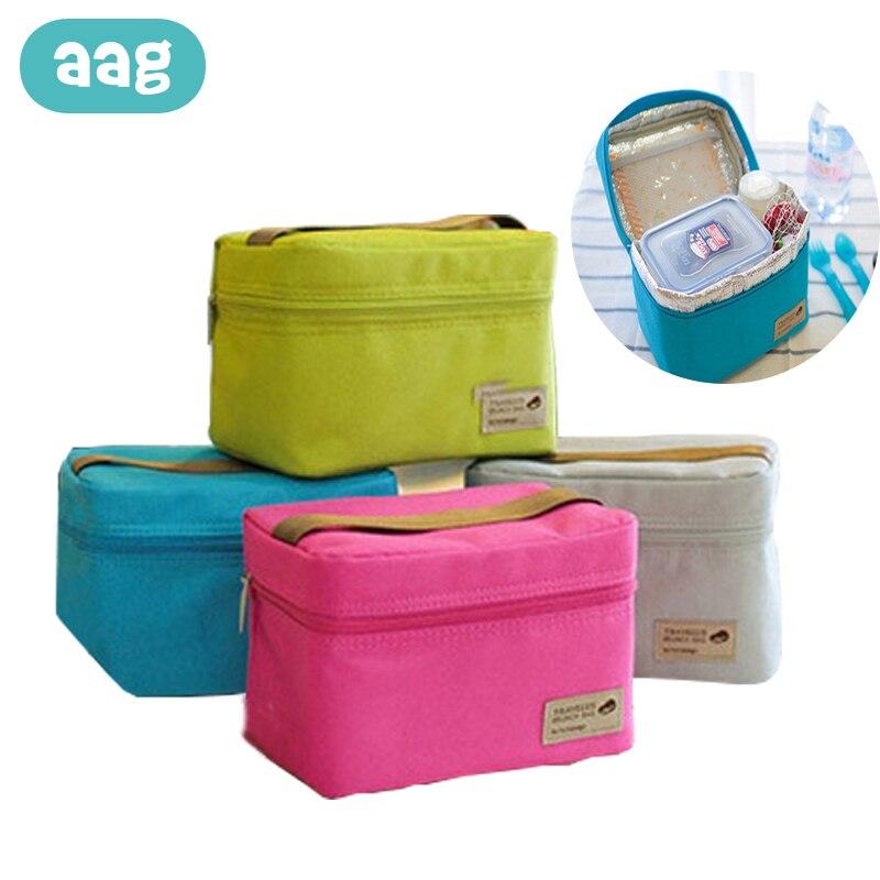 AAG bolsa portátil con aislamiento para bebés, botella para recién nacidos, bolsa térmica, caja de viaje, bolsas de almuerzo termo para bebé, soporte de almacenamiento de leche para alimentos