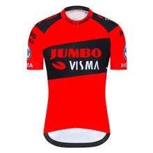 2020 Jumbo Visma cyclisme Maillot manches courtes vélo chemises vtt vélo Jeresy cyclisme vêtements vêtements Ropa Maillot Ciclismo