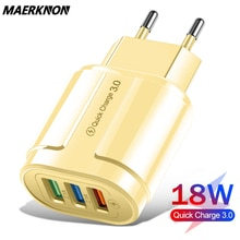 quick charge 3.0 4.0 usb fast charger 18w universal wall mobile phone chargers for iphone samsung hu