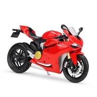 maisto 112 ducati 1199 panigale alloy motorcycle diecast bike car model toy collection mini moto gift