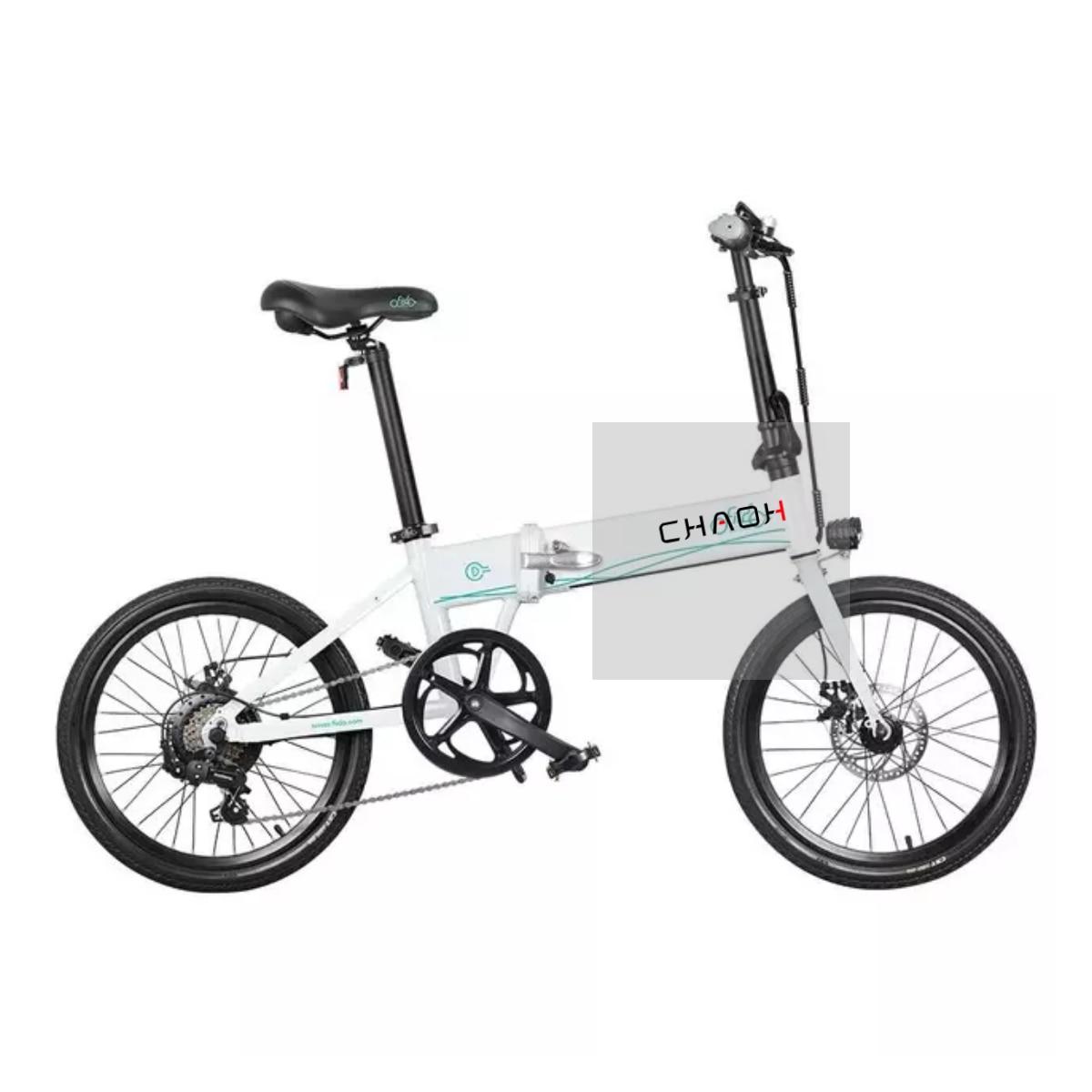 Bicicleta eléctrica plegable D4S, almacén europeo