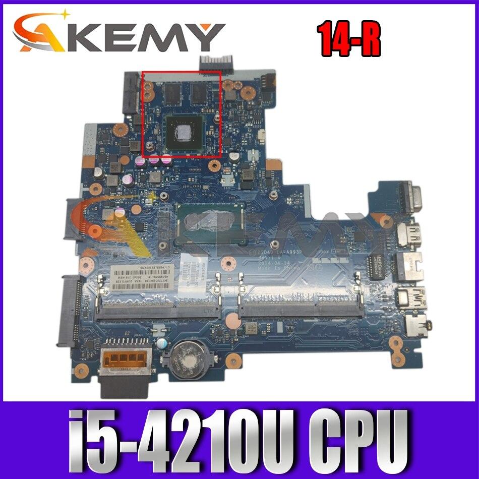 ل HP بافيليون 14-R LA-A993P SR1EF i5-4210U N15V-GM-S-A2 DDR3 دفتر اللوحة الأم اختبار كامل 100% العمل