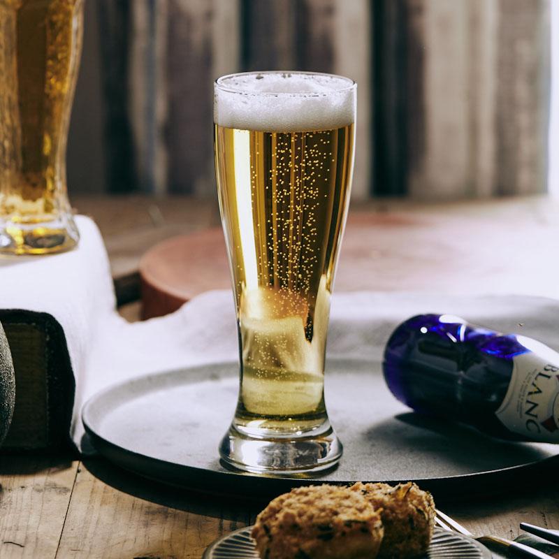 Copa de Cristal redonda de estilo nórdico, vaso de cerveza Simple y...