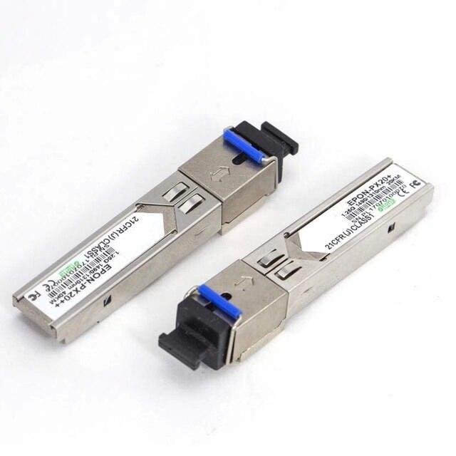 Módulo Pon Gepon Epon OLT SFP transceptor óptico PX20 + 3-5DB/Px20 + módulo 5-7DB/Px20 + + módulo 7-7.5DB/FTTH Web/dispositivo NMS