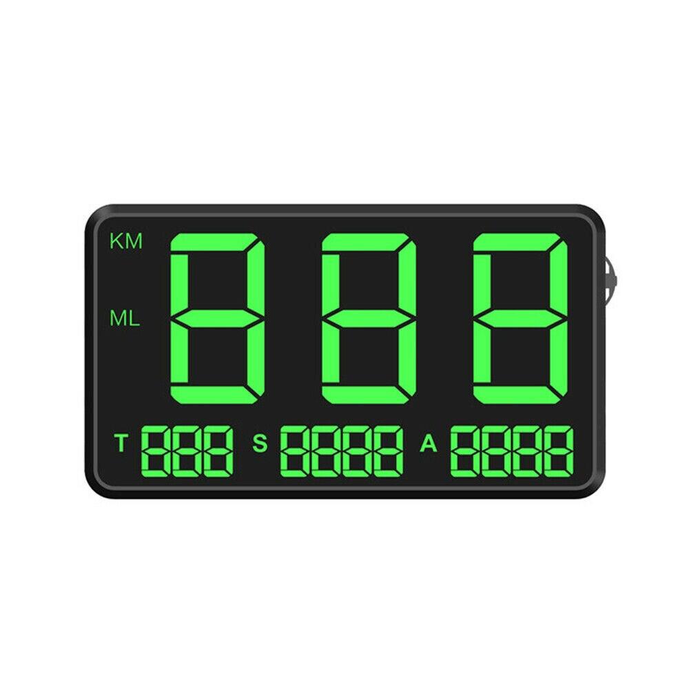 GPS para coche Digital C80, velocímetro, pantalla de velocidad KM/h MPH para bicicletas, motos, enchufe USB Universal