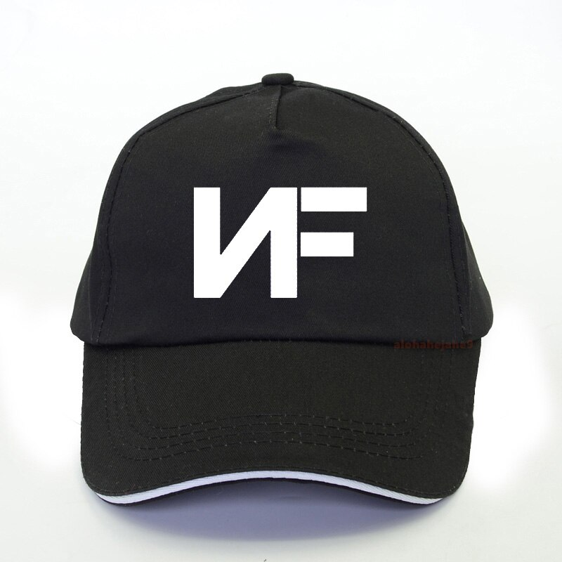 Gorras de béisbol con estampado de música Real NF, gorra de verano 2020 para hombre, gorra de camionero, moda para mujer, gorra snapback Hip Hop bone
