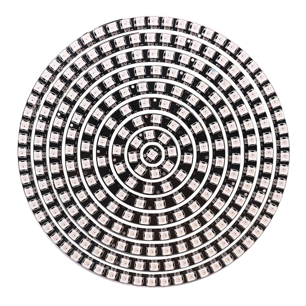 5v usb 18 key infrared controller 10m sk6812 ws2812b rgb full color individually addressable led string fairy light fairy light DC 5V WS2812B SK6812 RGB Pixel Ring Light Addressable LED Modules JST Jack Full Color Round LED Circle Strip Hard 241LEDs 1 LED