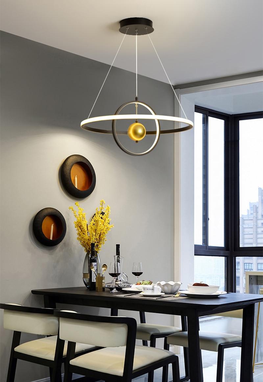 Современные подвесные светильники скандинавские подвесные светильники над обеденным столом кухонные островные подвесные светильники для...