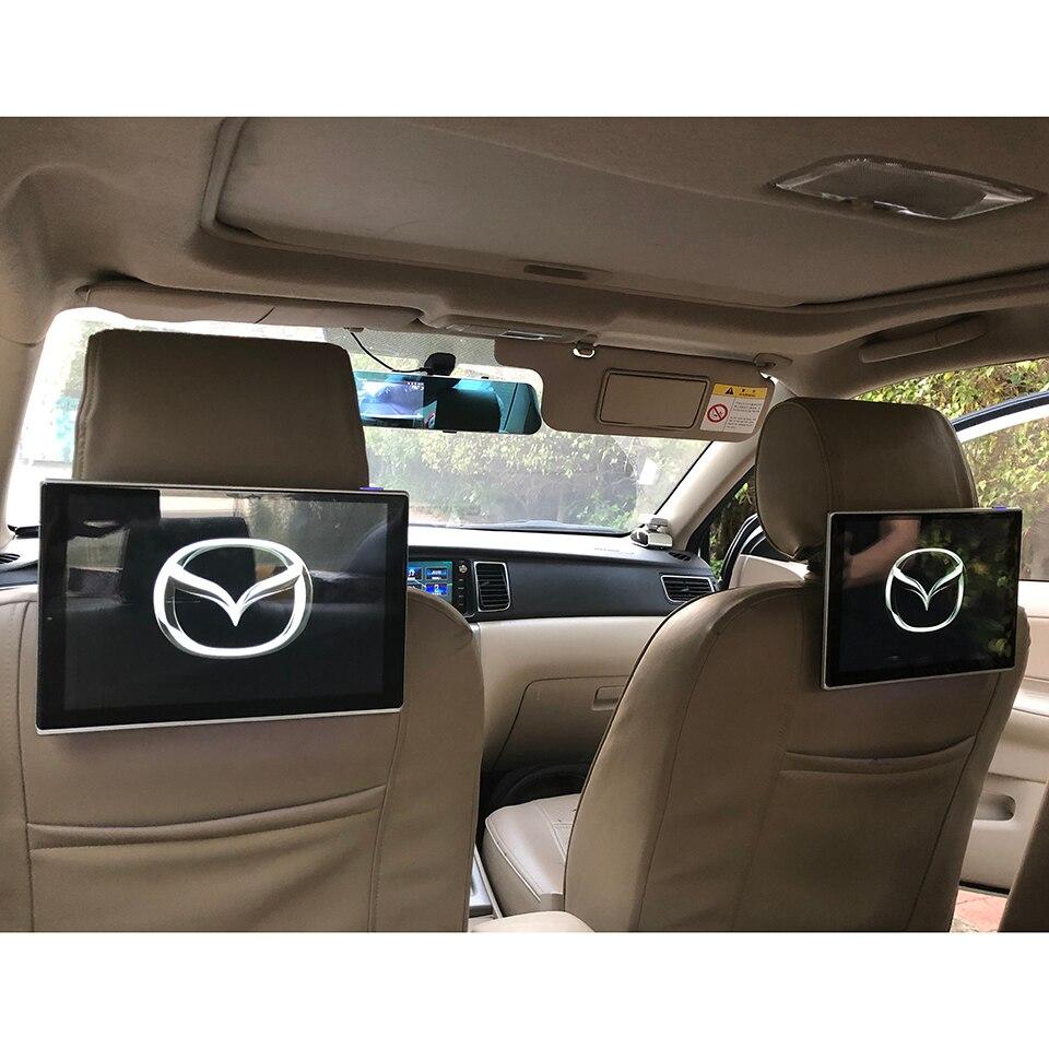 11,6 pulgadas de pantalla Android 9,0 monitor para reposacabezas de coche para Mazda 3 Axela 6 Atenza CX-3 CX-4 CX-5 RF CX-8 de entretenimiento para asiento trasero