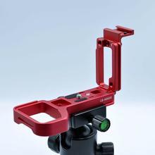 Placa Base de BEESCLOVER Placa de liberación rápida L soporte de agarre de mano rojo para Sony A6600 placa Base de montaje en caliente frío r60