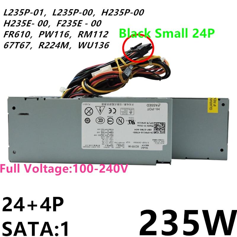 جديد الأصلي PSU لديل OptiPlex760 960 580 780 235W امدادات الطاقة L235P-01 L235P-00 D235E-00 F235E-00 H235P-00 H235E-00 PW116