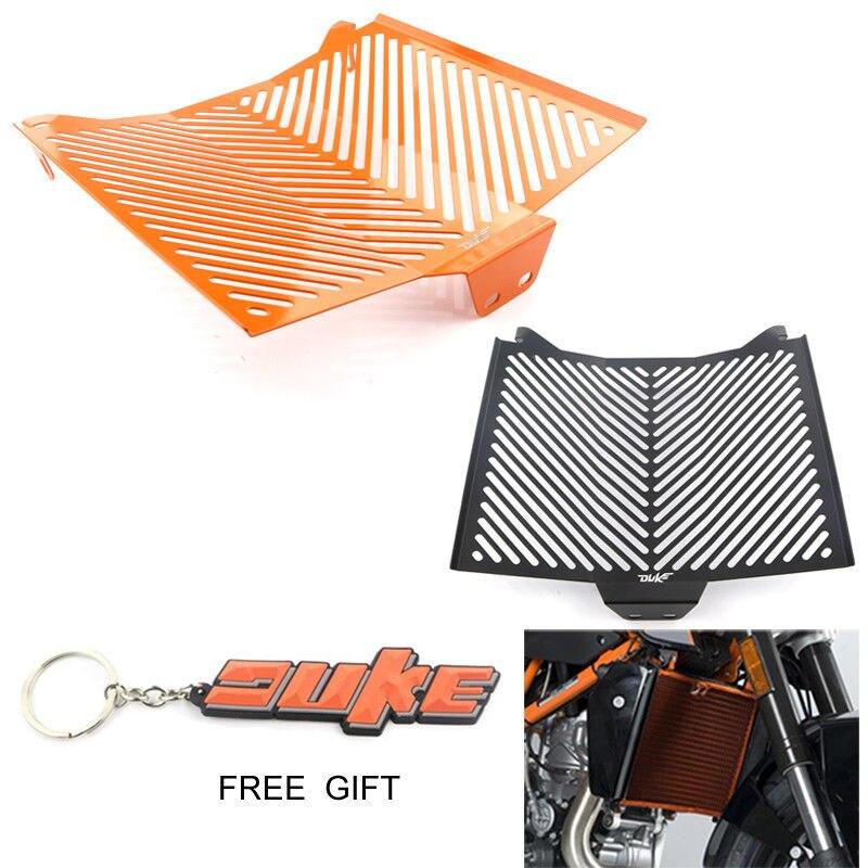 Para KTM 1290 Super Duke protector de aluminio protector de radiador parrilla enfriador de aceite cubierta protectora negro naranja