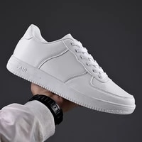 hot sale white mens sneakers 2021 light casual shoes for men breathable black men shoes big size tenis masculino zapatos hombre