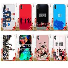 For Samsung Galaxy Note 8 9 10 Pro S4 S5 S6 S7 S8 S9 S10 S11 S11E S20 Edge Plus Ultra Soft TPU Phone K-pop Nct U 127 Dream Kpop