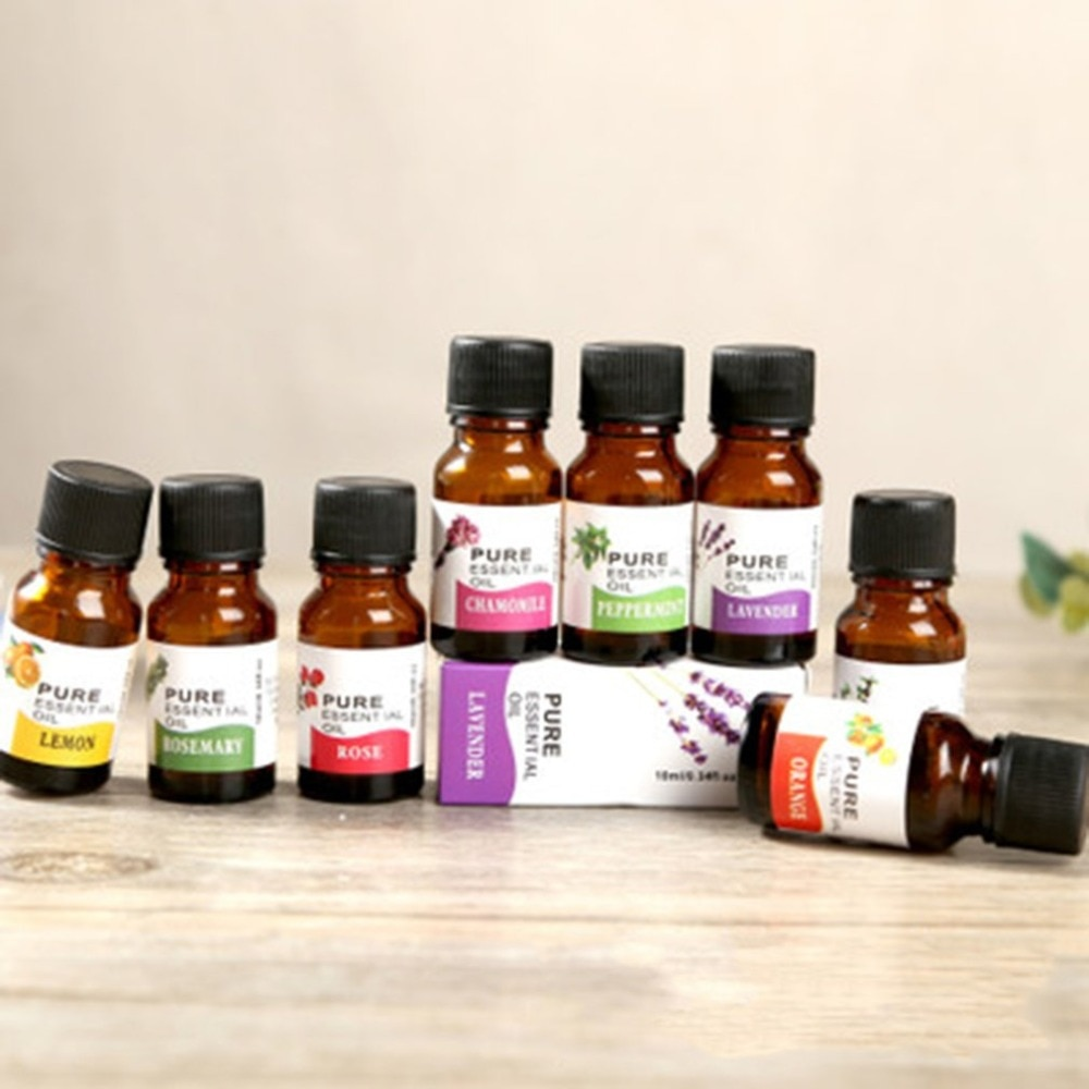 10ml Water-soluble Aromatherapy Essential Oil Aromatic Flavor Fragrance Air Freshener for Massage Spa Humidifier