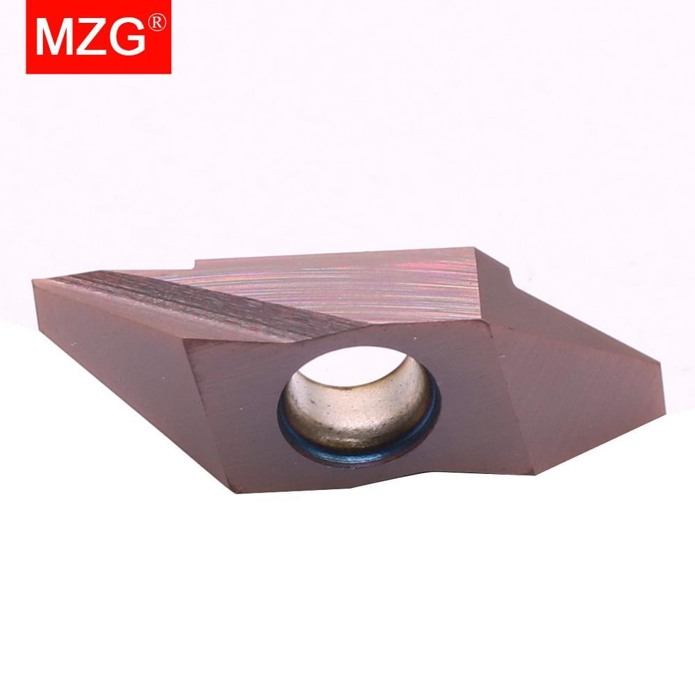MZG TKFB12R28005M, MZG TKFB12R28010M ZM856 CNC أجزاء صغيرة التصنيع الفولاذ المقاوم للصدأ الخلفية تحول حامل إدراج كربيد