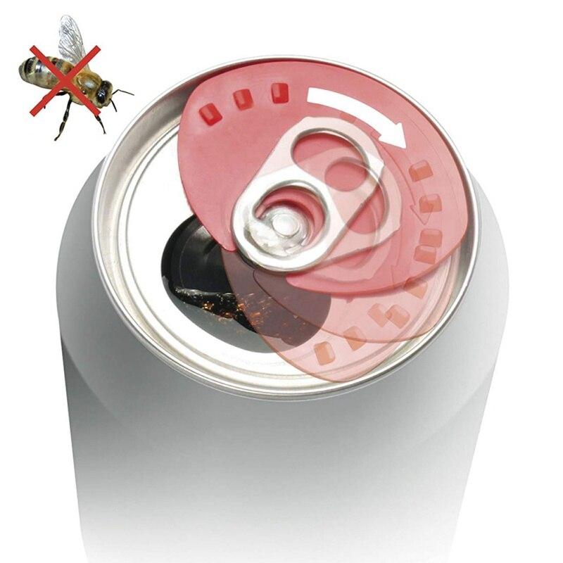 5 piezas creativas pueden convertir las tapas de los ahorradores de Soda a presión en las tapas de la lata a prueba de fugas de bebidas frías que pueden tapar el sellador sin polvo color al azar