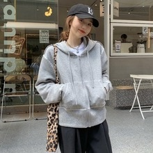Gray Coat Women's Spring and Autumn Thin Sweater Cardigan Loose Korean Style 2021 New Chic Top Cloth