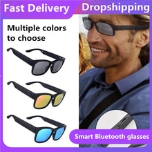 SALE Smart Glasses Wireless Bluetooth Hands-Free Calling Audio Open Ear Anti-blue Light Lenses IPX7