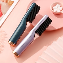 Lazy Hair Straightener Wireless Straightening and Curly Hair Dual-use Corrugated Curly Hair Straight