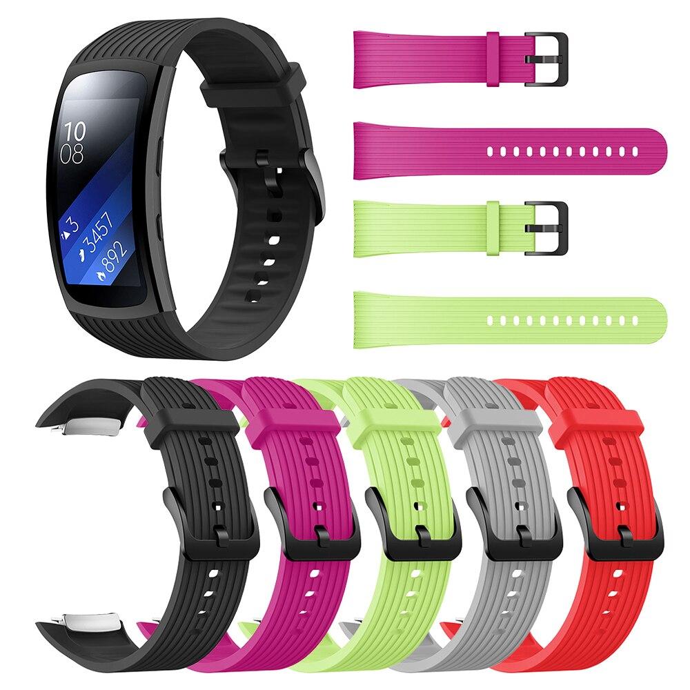 Ремешок для часов Samsung Galaxy Gear Fit2 Pro, ремешок для наручных часов, Смарт-часы для Gear Fit 2 SM-R36, сменный силиконовый ремешок для часов