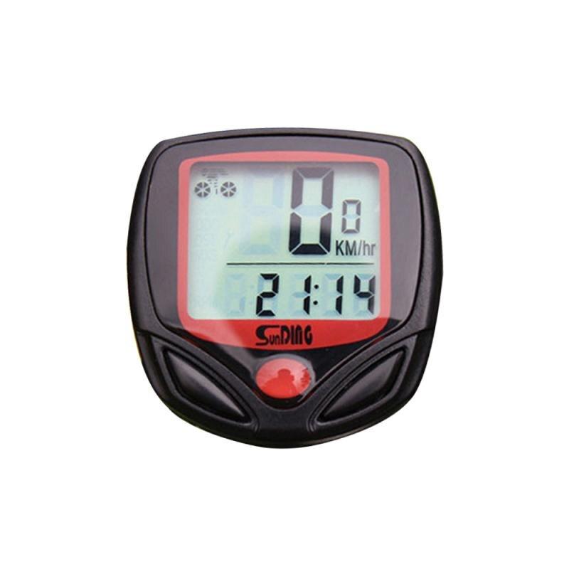 Vélo kilométrage instrument denregistrement vélo compteur de vitesse équitation numérique LCD ordinateur vélo étanche odomètre compteur de vitesse