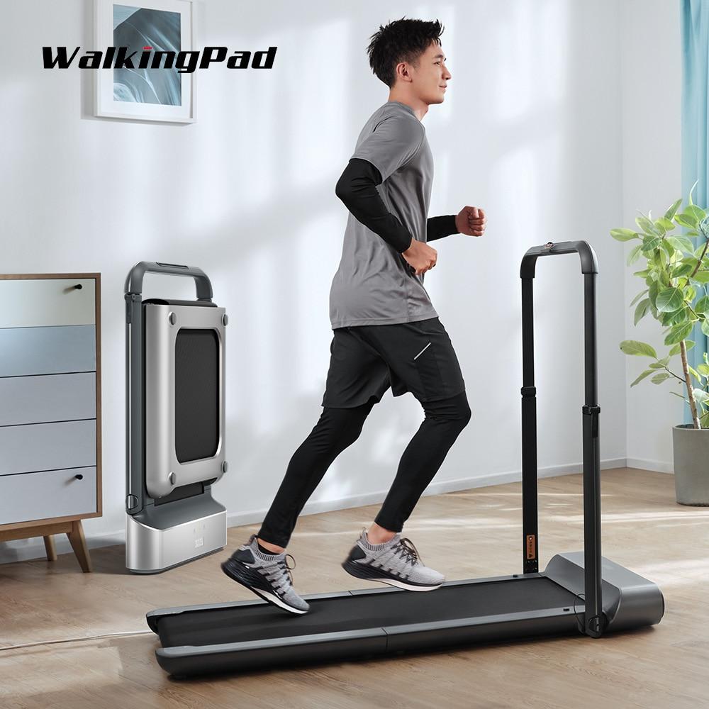 مشاية كهربائية قابلة للطي من WalkingPad R1 Pro ، تعمل بسرعة 10 كم/ساعة ، مع تحكم بالتطبيقات ، مع جهاز مشاية للمنزل