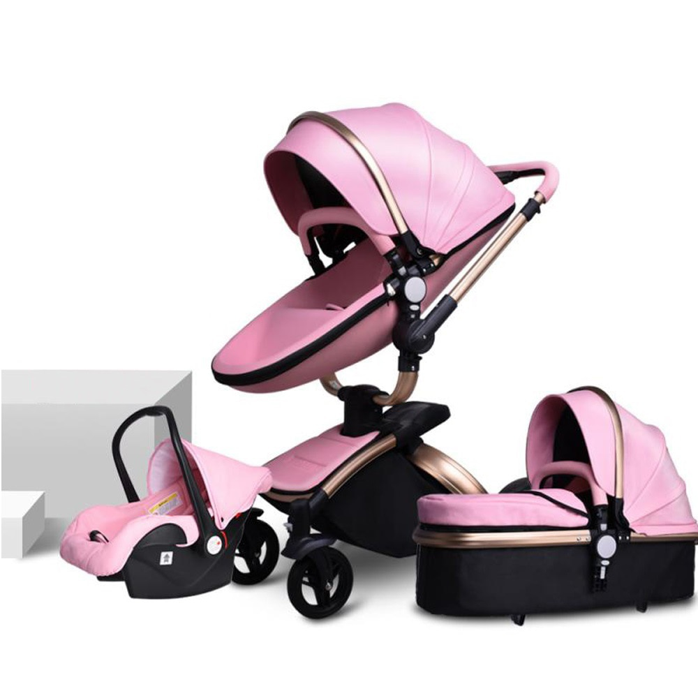 3 in 1 Multifunctional Baby Stroller Folding Strollers Baby Trolley Kid Carriage Foldable Pushchair Pram Traveling Newborn Car enlarge