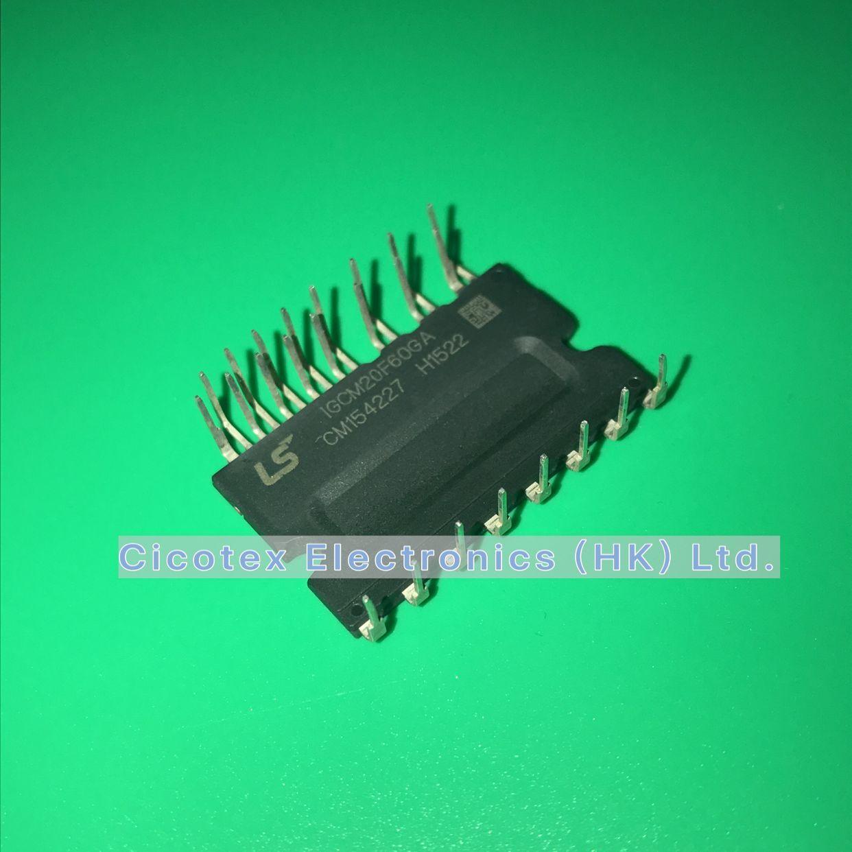 "IGCM20F60GA модуль IGBT модуль драйвера питания IGBT 3 фазы 600V 20A 24-силовой модуль DIP (1,028 "", 26,10 мм) 24MDIP"