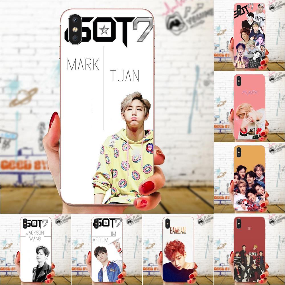 Got7 Kpop Soft Skin Paintin For Galaxy Alpha Note 10 Pro A10 A20 A20E A30 A40 A50 A60 A70 A80 A90 M10 M20 M30 M40