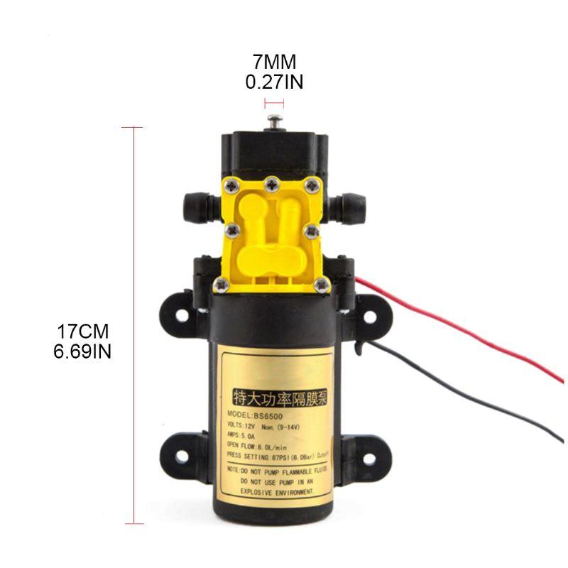 P15D 8L/min Large Flow Rate Agricultural Electric Water Pump Water Sprayer Car Wash high quality water circulating multi purpose vacuum pump air drawing rate 10l min