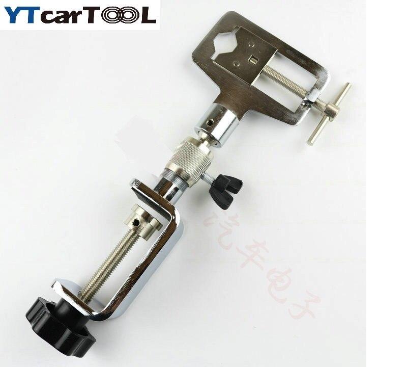 100% HUK Original, herramienta de cerrajero ajustable de aleación de Metal de 360 grados, tapa blanda, abrazadera de tornillo de banco de bloqueo de práctica