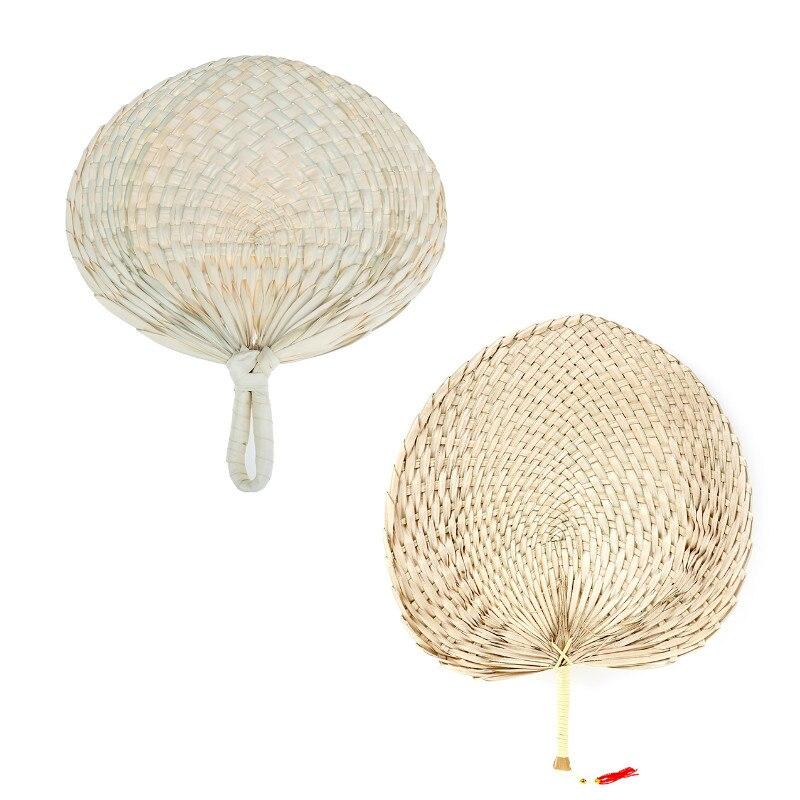 Детский репеллент от комаров, летние ручные соломенные ручные вентиляторы, мини домашний бамбуковый танцевальный портативный подарок, тов...