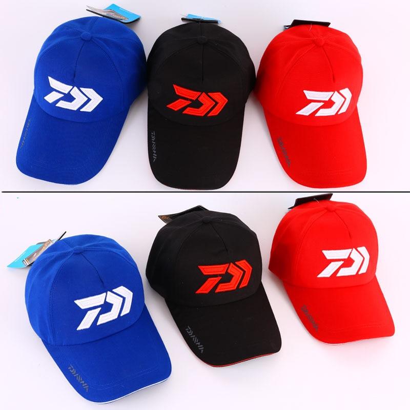 Adjustable Sun Protection Fishing Cap Outdoor Baseball Hat Breathable Cycling Hiking Sunshade Cap