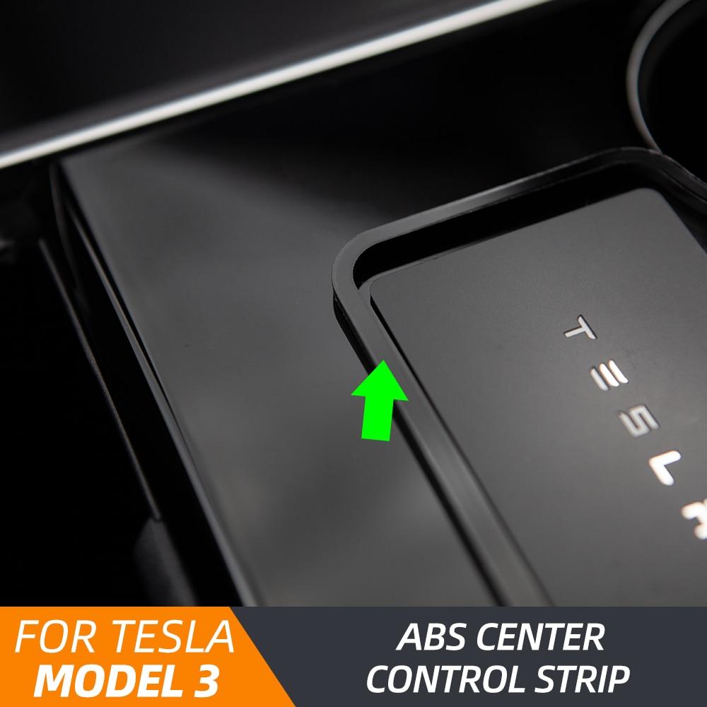 AliExpress - Model3 Car Engine Start Card Key Trim Frame Holder Fixer Limiting Sticker For Tesla Model 3 2020 Accessories for Model Y
